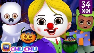 Halloween is Here Song - SCARY & SPOOKY + More ChuChu TV Nursery Rhymes & Kids Songs