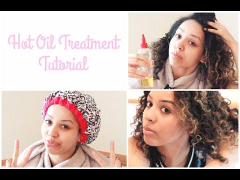 Natural hair care: hot oil treatment tutorial classycurlies diy.