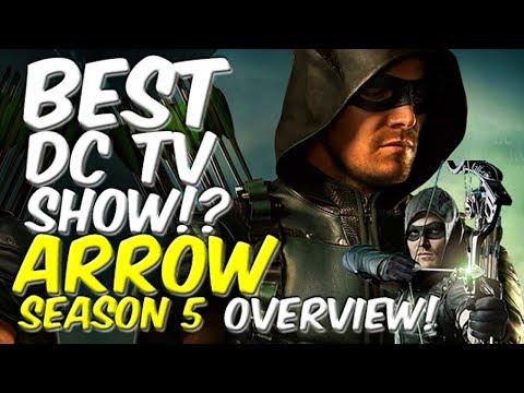 Arrow Season 5 BEST DC SHOW!? - OVERVIEW! + contest!