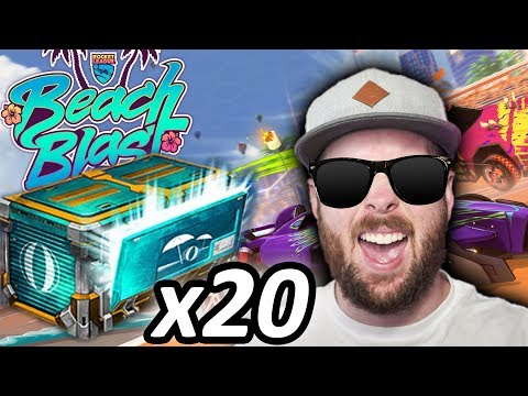 Opening 20 NEW RL BEACH BLAST Crates!!