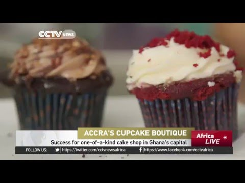 Success for one-of-a-kind cake shop in Ghana's capital