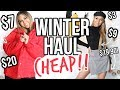 AFFORDABLE WINTER HAUL | Roxette Arisa
