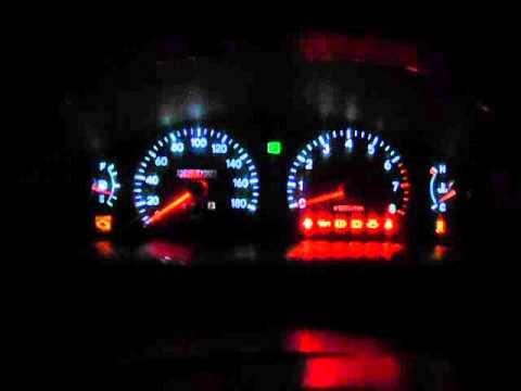 Диодная панель приборов Toyota Vista sv40.AVI