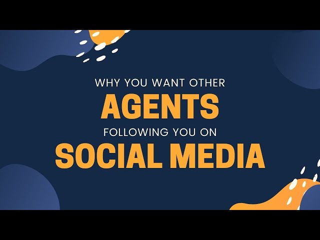 #missionreport - Why you want other agents following you on social media