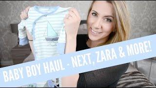 BABY BOY HAUL   NEXT, ZARA & MORE