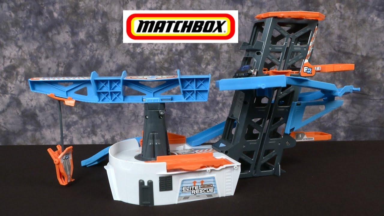 Matchbox Elite Rescue Rescue Headquarters From Mattel