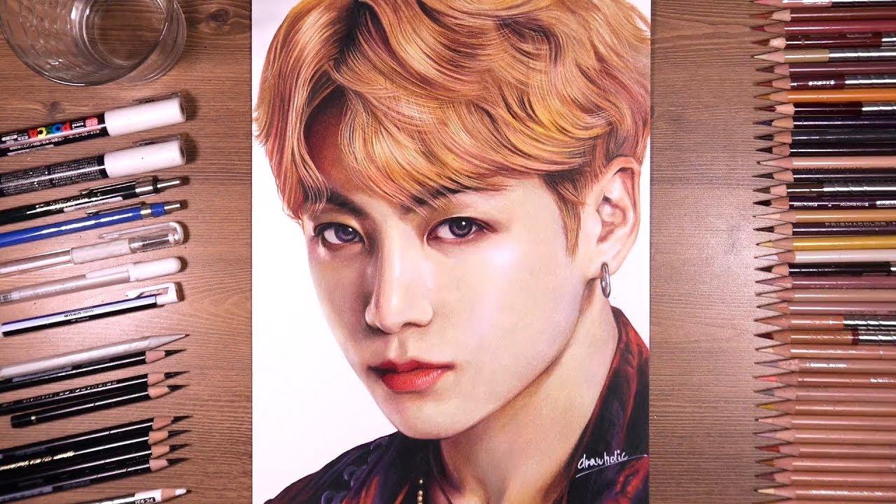 Jungkook Bts Drawings: Drawing BTS: Jungkook