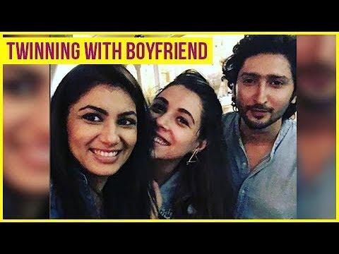 Sriti Jha aka Pragya TWINNING With Boyfriend Kunal Karan Kapoor   Kumkum Bhagya