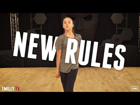 Dua Lipa - New Rules - Choreography by Brian Friedman - #TMillyTV