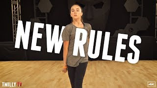 Video Dua Lipa - New Rules - Choreography by Brian Friedman - #TMillyTV download MP3, 3GP, MP4, WEBM, AVI, FLV Januari 2018