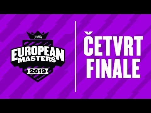 EU Masters - SK vs LDLC   Fnatic vs Ventus - Sezona 3 PLEJOF Dan 2