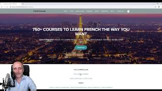 Learn French with the full curriculum that includes more lessons than on my Youtube channel