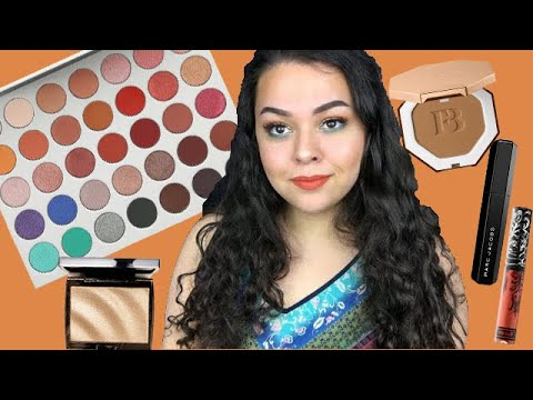 FIRST IMPRESSIONS ON THE JACLYN HILL PALETTE AND FENTY BRONZER!! thumbnail
