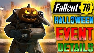 NEW HALLOWEEN EVENT DETAILS! ARE VAULT RAIDS NOW SAFE? - Fallout 76 News Update