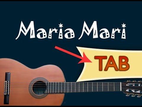 Maria Mari spartito chitarra  Canzone napoletana