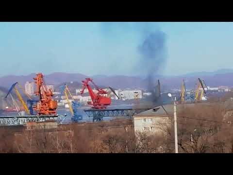 Находкинский Морской Торговый Порт жжет!