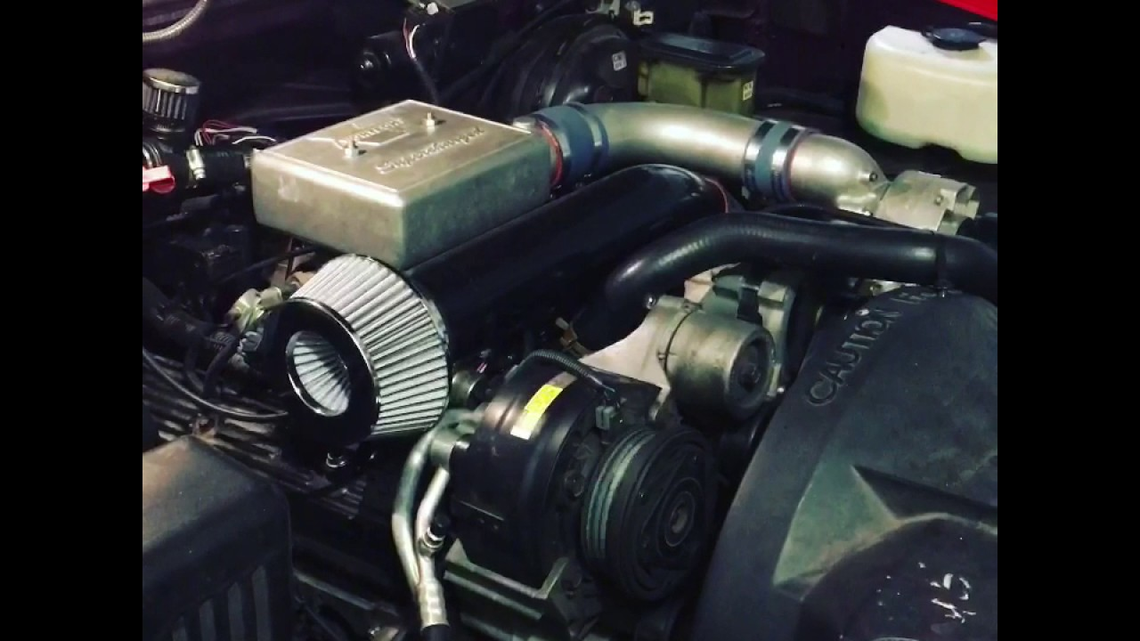 350 TBI with a Vortech V1 Supercharger