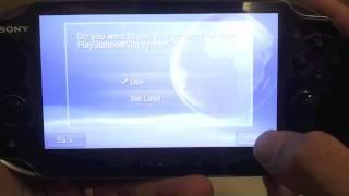 PS Vita - Changing PSN ID