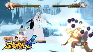 Naruto Storm 4 Linked Awakenings, New Kaguya Dimensions Screenshots