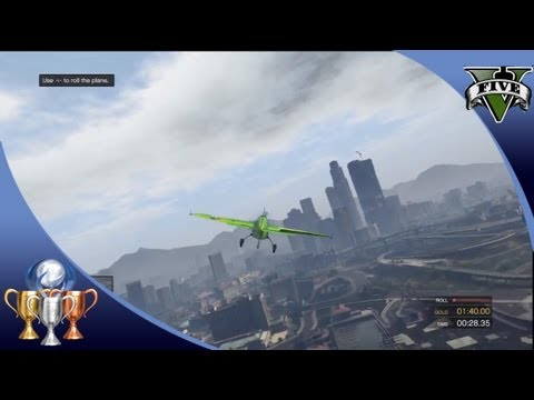 Grand Theft Auto V (GTA 5) Flight School - Learn to Fly, Tricks, and Skydive