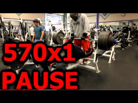 570x1 BENCH PRESS IM BACK | SEATED ROW SCAPULAR RETRACTIONS | LAT PULL DOWNS