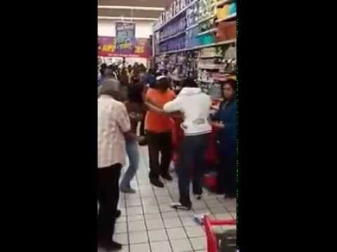 Lady assaults husband in supermarket.(Phoenix Plaza-DBN)