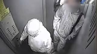 Лифт стал местом преступления