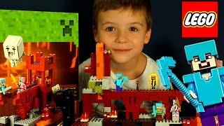 Лего Майнкрафт 2015, 21122 + Мультики. Видео на русском языке. Lego Minecraft(262: Лего Майнкрафт 2015, 21122 + Мультики. Видео на русском языке. Lego Minecraft Набор 21122 2015 года Привет, сегодня обзор..., 2015-08-13T10:25:13.000Z)