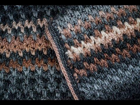 Double V Crochet Stitch Youtube