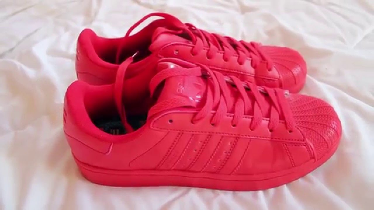 5acb73d60b6b39 Red ADIDAS SUPERCOLOR from Aliexpress - YouTube
