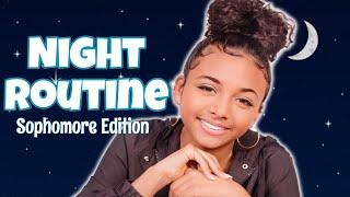 School Night Routine (GRWM) 2019 | LexiVee03