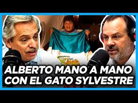 IMPERDIBLE. ALBERTO con el Gato Sylvestre dio detalles de como gestionó la salida de Evo de Bolivia