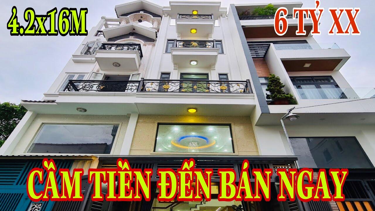Bán nhà Gò Vấp[65😍] Khu nhà đẹp Vip nhất phường 6 Nguyễn Oanh giá rẻ.