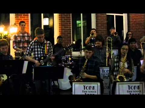 Crunchy Frog by Gordon Goodwin Performed by the York High School Jazz Lab Band