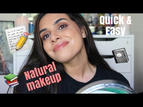 NATURAL DRUGSTORE/AFFORDABLE MAKEUP FOR SCHOOL | MAUMINA
