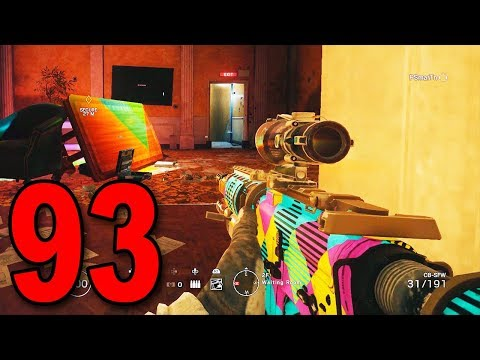 Rainbow Six Siege - Part 93 - Never Seen a Team Choke This Hard