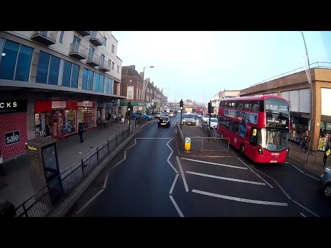 *Route Visual* 288 – Queensbury to Broadfields Estate – Arriva London