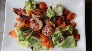 Warm Scallop Salad Recipe By Sam The Cooking Guy