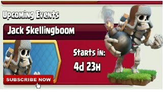 Clash Of Clans | Jack Skellingboom | Upcoming Events | Mr. Ice Guy Today's Event | Hindi
