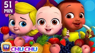 yes Yes Fruits Song + More ChuChu TV Baby Nursery Rhymes & Kids Songs
