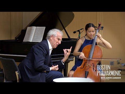 Benjamin Zander's Interpretations Of Music: Bach Cello Suite No. 2, Prelude