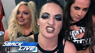 Charlotte Flair and Ruby Riott exchange words: SmackDown LIVE, Feb. 20, 2018