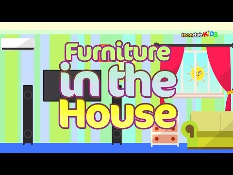 Furniture in the House | Children's Songs & Nursery Rhymes