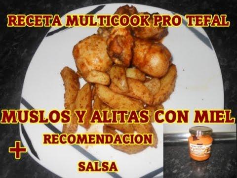 Receta muslos y alitas a la miel multicook pro tefal - Tefal multicook pro recetas ...