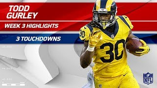 Todd Gurley Scores a Trio of Touchdowns vs. San Francisco🔥 | Rams vs. 49ers | Wk 3 Player Highlights
