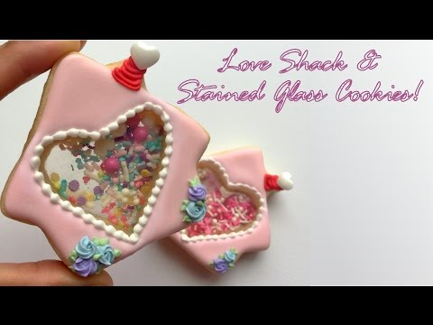 Love Shack & Stained Glass Cookies