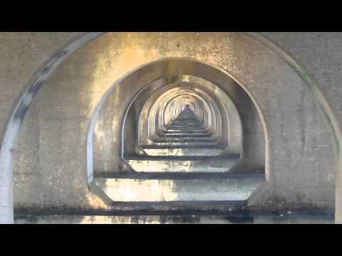 Amtrak Bush River Drawbridge Zen Water and Light