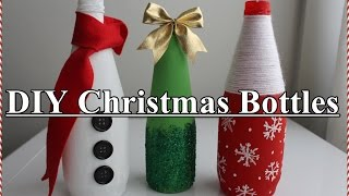 DIY: Christmas Bottles