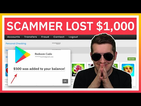 Scammers Rage When I Redeem $1,000 In Gift Cards