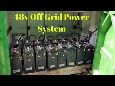 Fixed Neighbors 48v Off Grid Solar Wind System - Off Grid Home